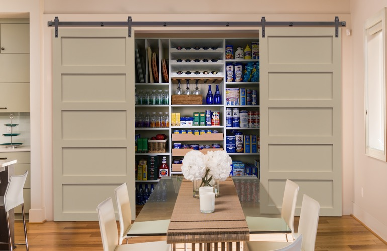 Pantry Sliding Barn Doors In Chicago, IL