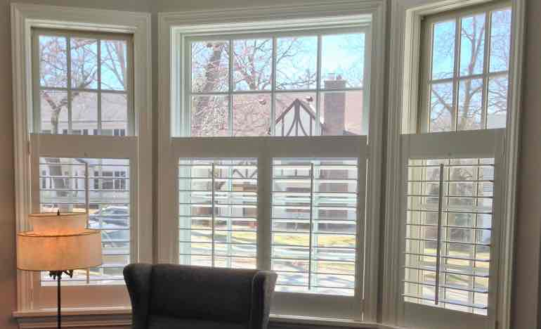 Beautiful Window Treatments chicago bay windows need beautiful window treatments | sunburst