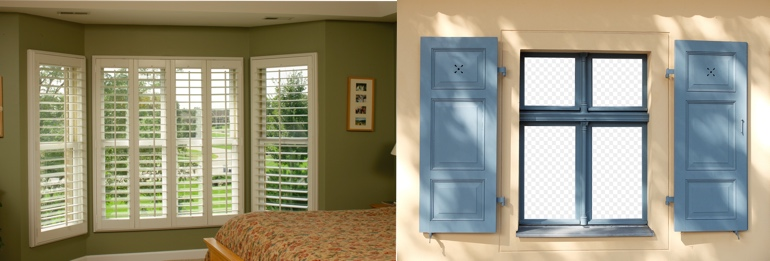 Chicago IL exterior and interior shutters