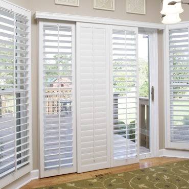 Chicago Sliding Patio Door Shutters