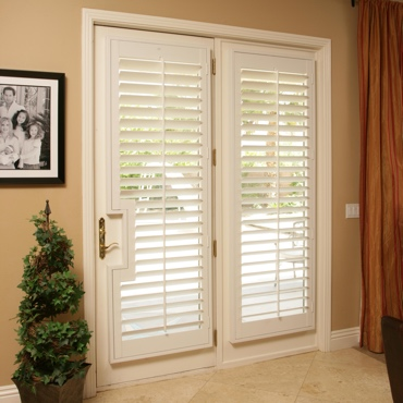 Patio French Door Shutters Chicago