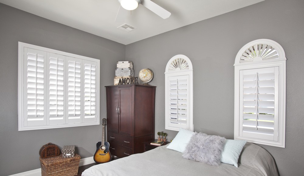 Polywood Shutters In A Chicago Bedroom