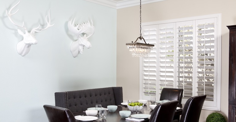 Chicago dining room shutters