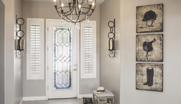 Chicago entryway shutters