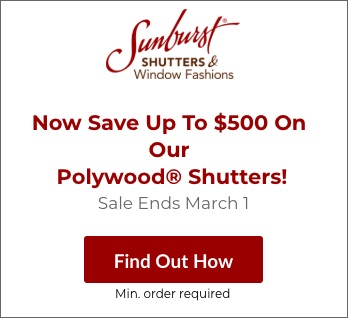 Sale on Chicago Polywood Shutters