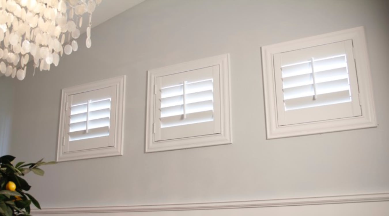 Chicago small window shutters