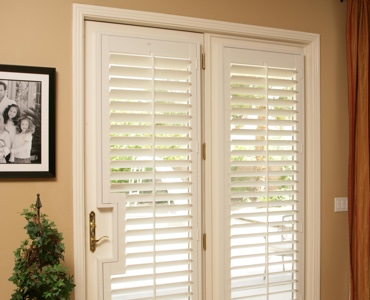 Chicago french door shutters