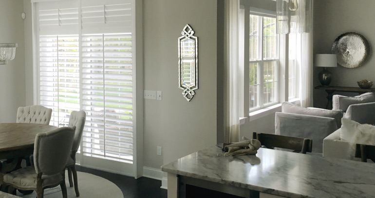 Chicago kitchen sliding door shutters