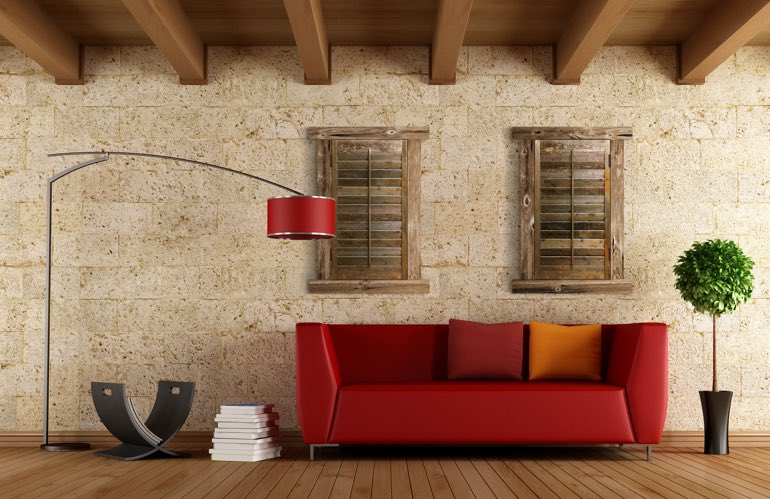 Newest Trends In Window Treatments In Chicago: Reclaimed Wood Shutters