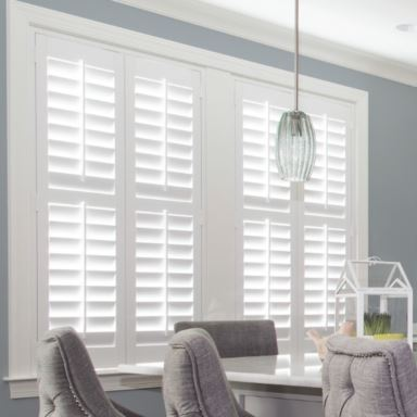 Polywood Shutters in Kitchen